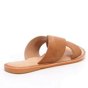 Ava Banded Slide-On Sandals Y7v4Or2pSF